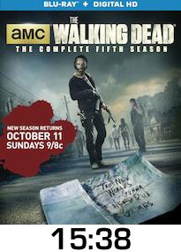 The Walking Dead Fifth Season Bluray Review