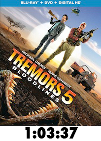 Tremors 5 Bluray Review