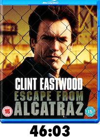 Escape from Alcatraz Bluray Review