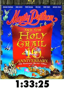 Monty Python and the Holy Grail Bluray Review