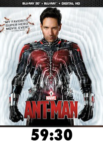 Antman Bluray Review