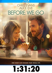 Before We Go Bluray Review