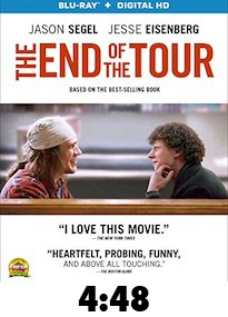 End of the Tour Bluray Review
