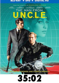 Man from UNCLE Bluray Review