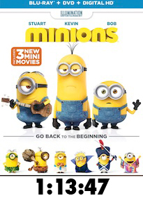 Minions Bluray Review