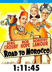 Road to Morocco Blu-Ray Review