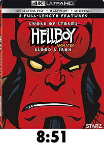 Hellboy Storm of Swords Blood and Iron Movie Review