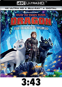 How To Train Your Dragon: The Hidden World 4k Review