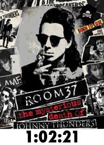 Room 37: The Mysterious Death of Johnny Thunders Blu-Ray Review