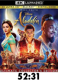 Aladdin Live Action 4k Review