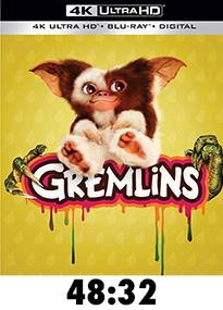 Gremlins 4k Review