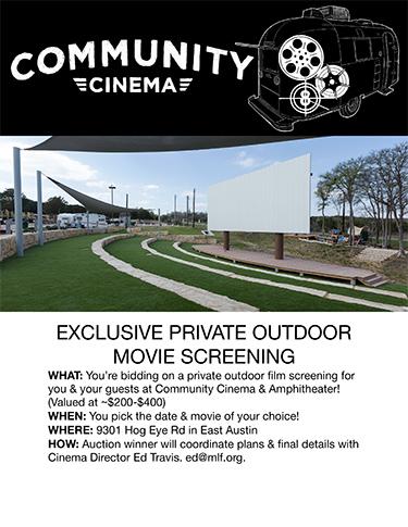 Austin Community Cinema Auction
