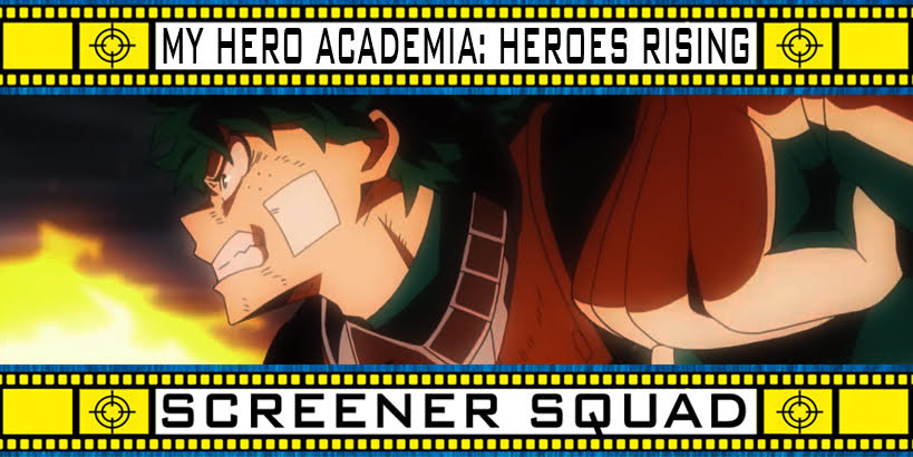 My Hero Academia: Heroes Rising Movie Review