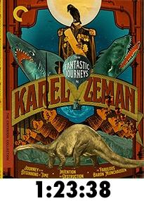 Three Fantastic Journeys of Karel Zeman Criterion Blu-Ray Review