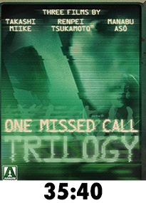 One Missed Call Trilogy Blu-Ray Review