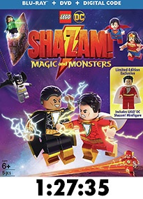 Lego DC Shazam! Magic and Monsters Blu-Ray Review