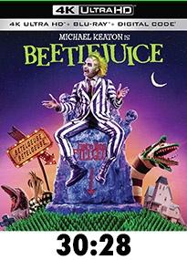 Beetlejuice 4k Review