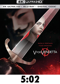 V For Vendetta 4k Review