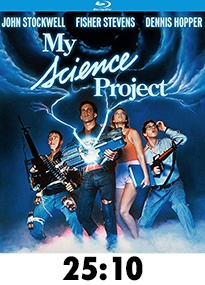 My Science Project Blu-Ray Review