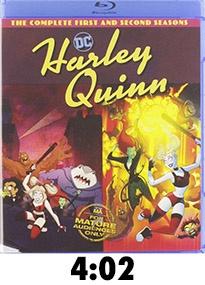 Harley Quinn Seasons 1 and 2 Blu-Ray Review