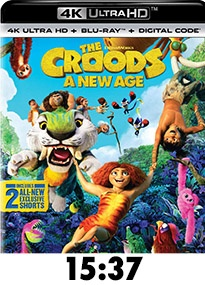 The Croods: A New Age 4k Review