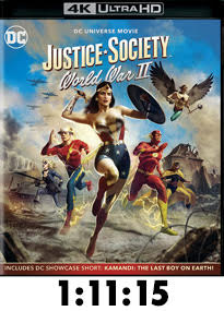 Justice Society: World War II 4k Review