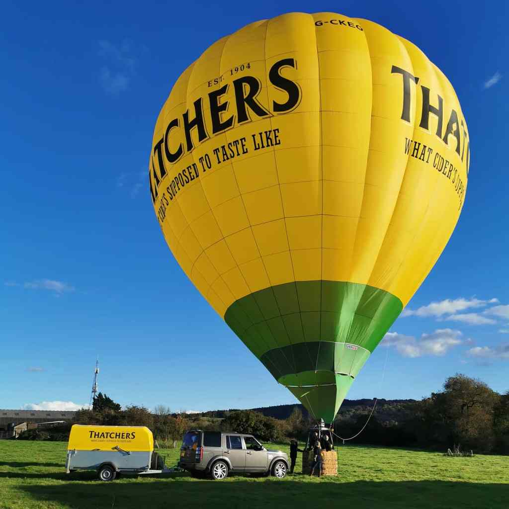 Balloon rides in Bristol (by From One Owner to Another)