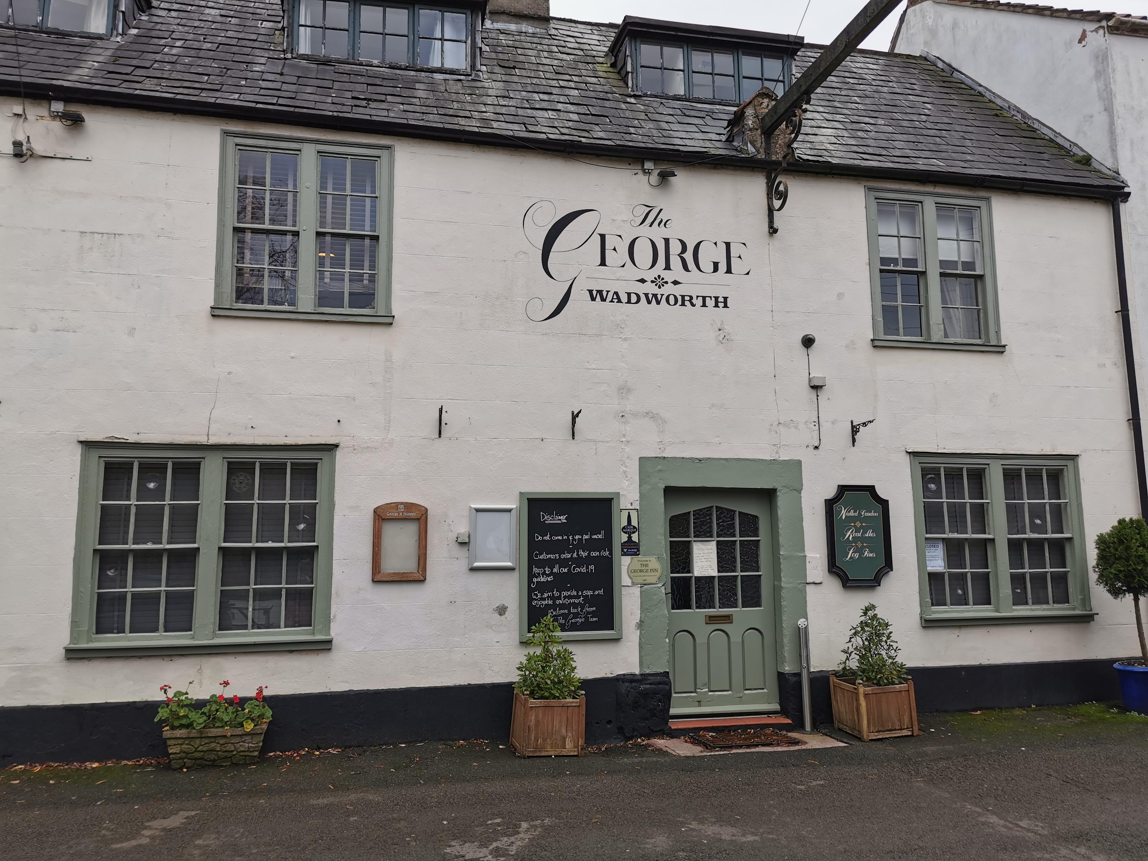 Dog-friendly George Inn