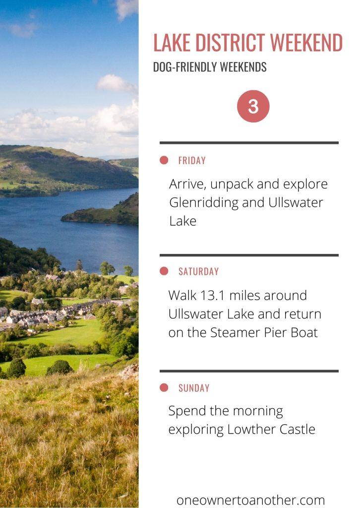 Dog-friendly Lake District Weekend Plan 3