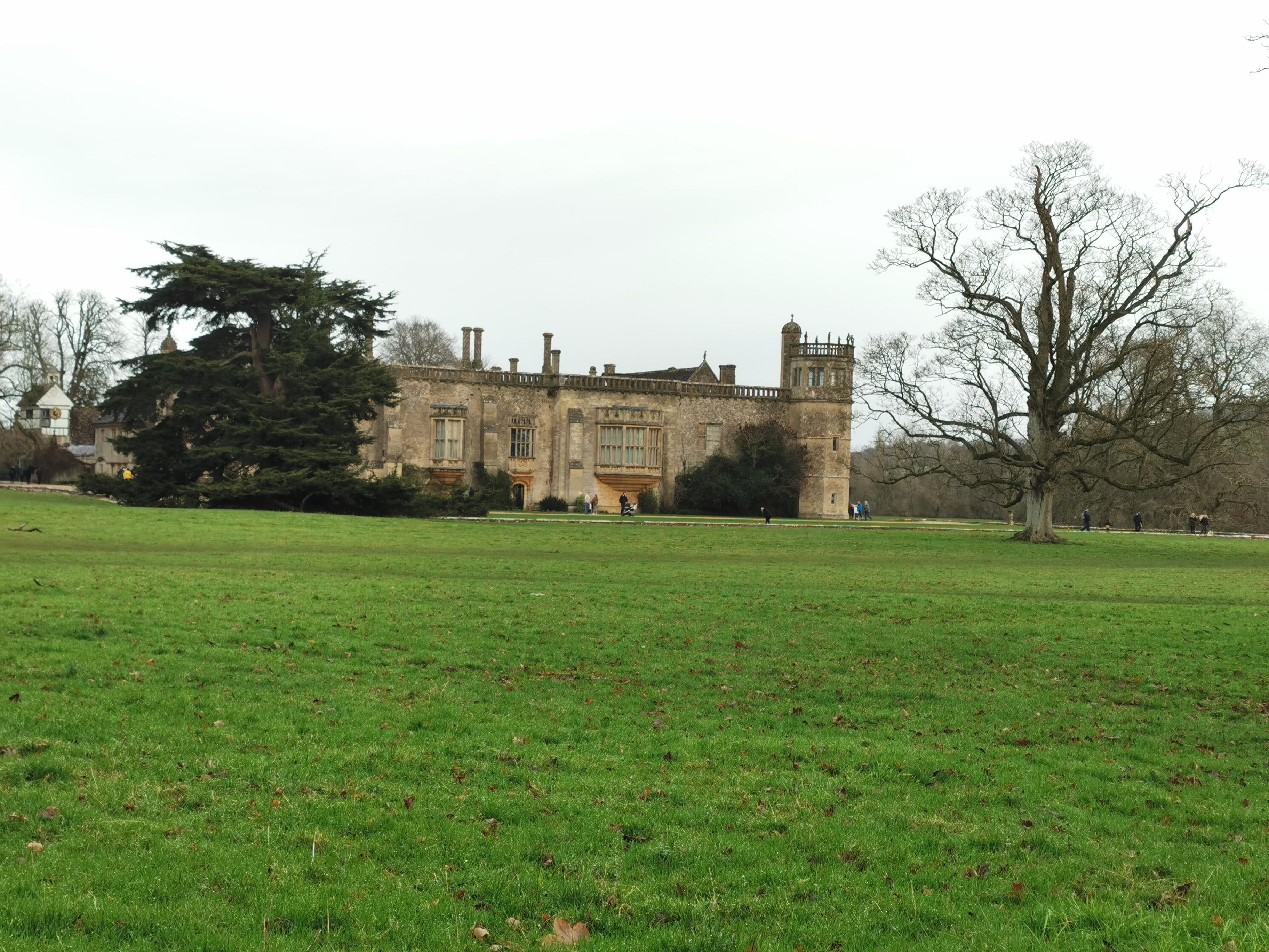 Lacock Abbey from the roadside