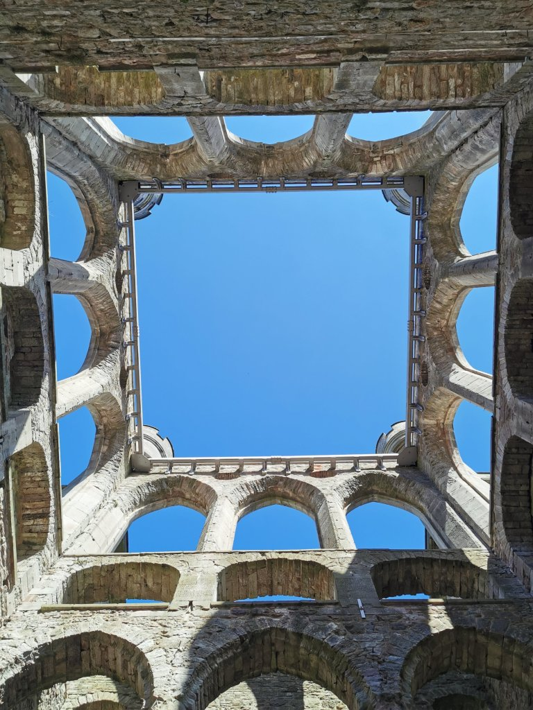 Lowther Castle Ruin Roof