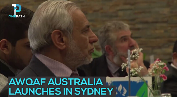 Launching Waqf Australia