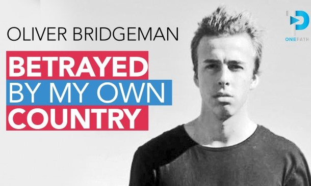 Betrayed By My Own Country - #OliverBridgeman Interviewed