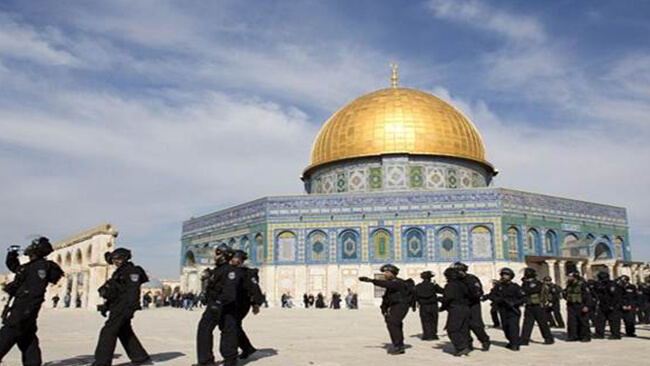 Muslims refuse to pray at Al Aqsa after new degrading restrictions.