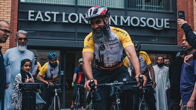 Cycling from London to Makkah, the Hajj Ride.