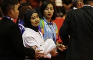 Blind Paralympian was disqualified for wearing the hijab!