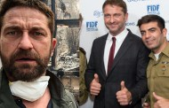 Gerard Butler faces criticism for supporting Israel