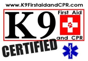 k9 cpr dog first aid and cpr logo denver