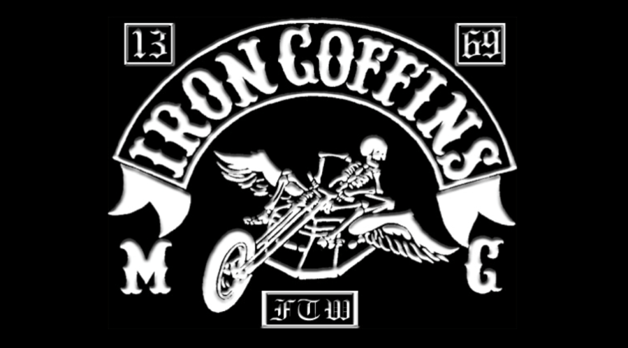 Iron Coffins MC (Motorcycle Club) - One Percenter Bikers