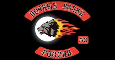 Night Wolves MC patch logo-950x475