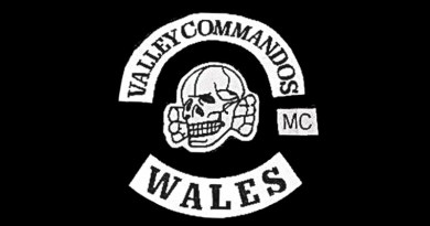 Valley Commandos MC patch logo