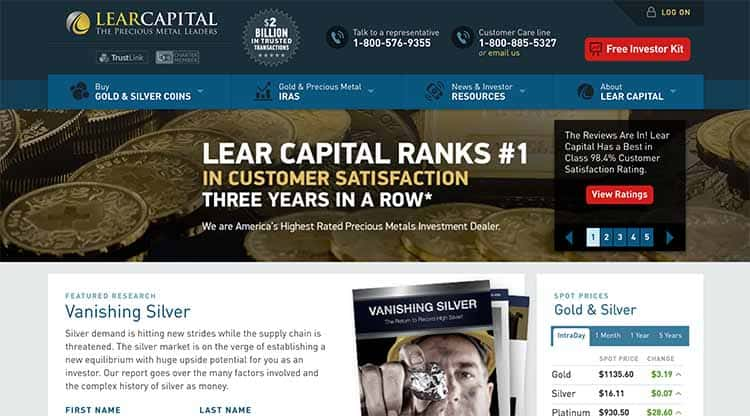 lear-capital-website