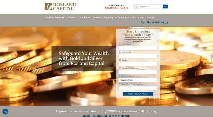 rosland capital website