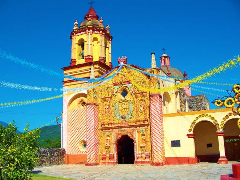One of the Franciscan Missions in the Sierra Gorda.
