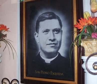 Martyred priest St. Pedro Esqueda (from San Juan de los Lagos)