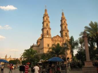 The Basilica of Our Lady of San Juan de los Lagos.