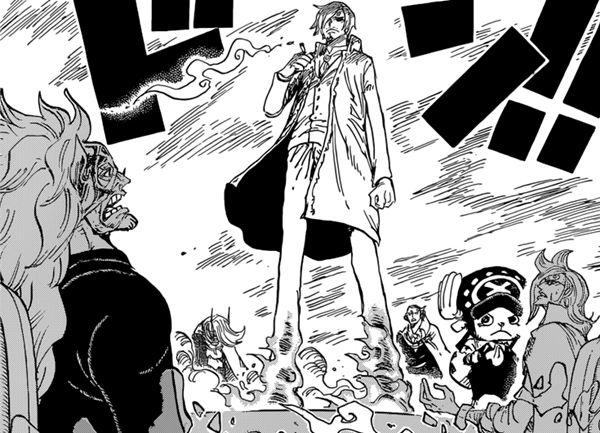 SANJI could save VINSMOKE FAMILY.