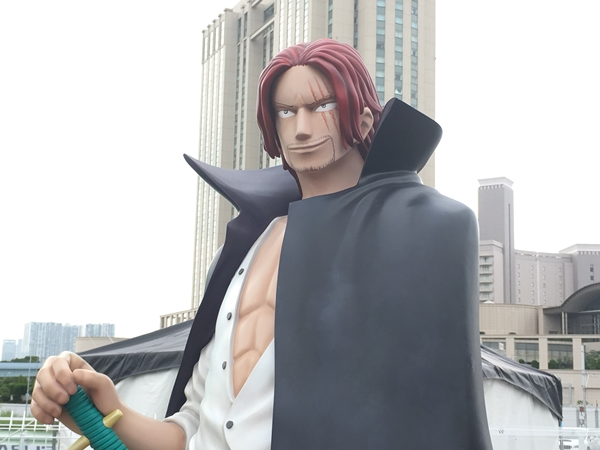 SHANKS and SABO in ODAIBA 2017 ONE PIECE CHRONICLE