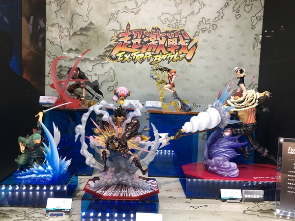 TAMASHII NATIONS 2018 - BANDAI's figure exhibition
