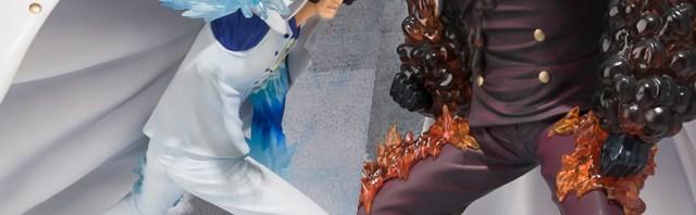 【ワンタマ新作情報】フィギュアーツZERO 青雉 クザン Battle Ver./赤犬 Battle Ver. 11月発売予定 #onepiece